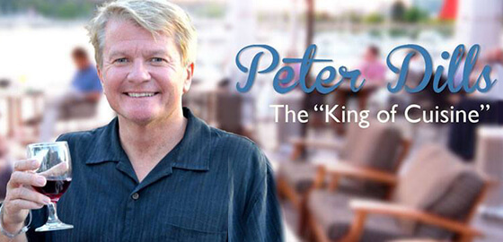 Radio host Peter Dills Food Trivia